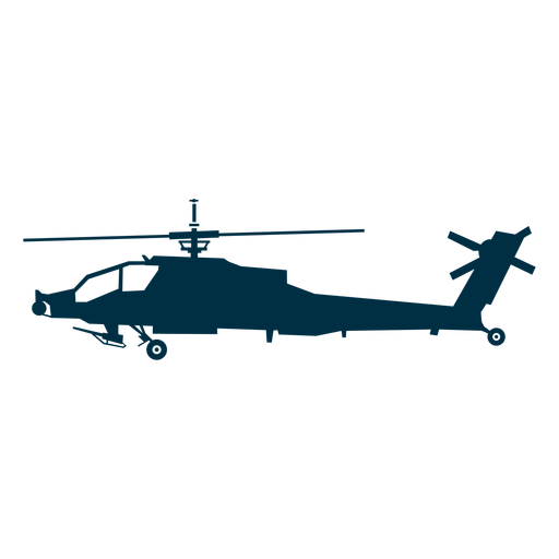 Attack helicopter png. Silhouette transparent svg vector