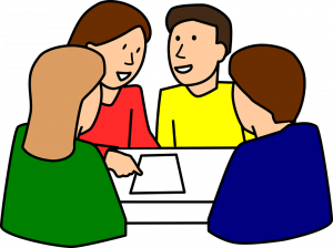 Attention clipart teacher discussion. What are the different