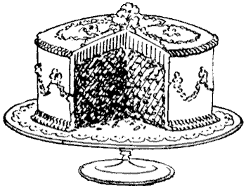 Attention clipart vintage. Cake