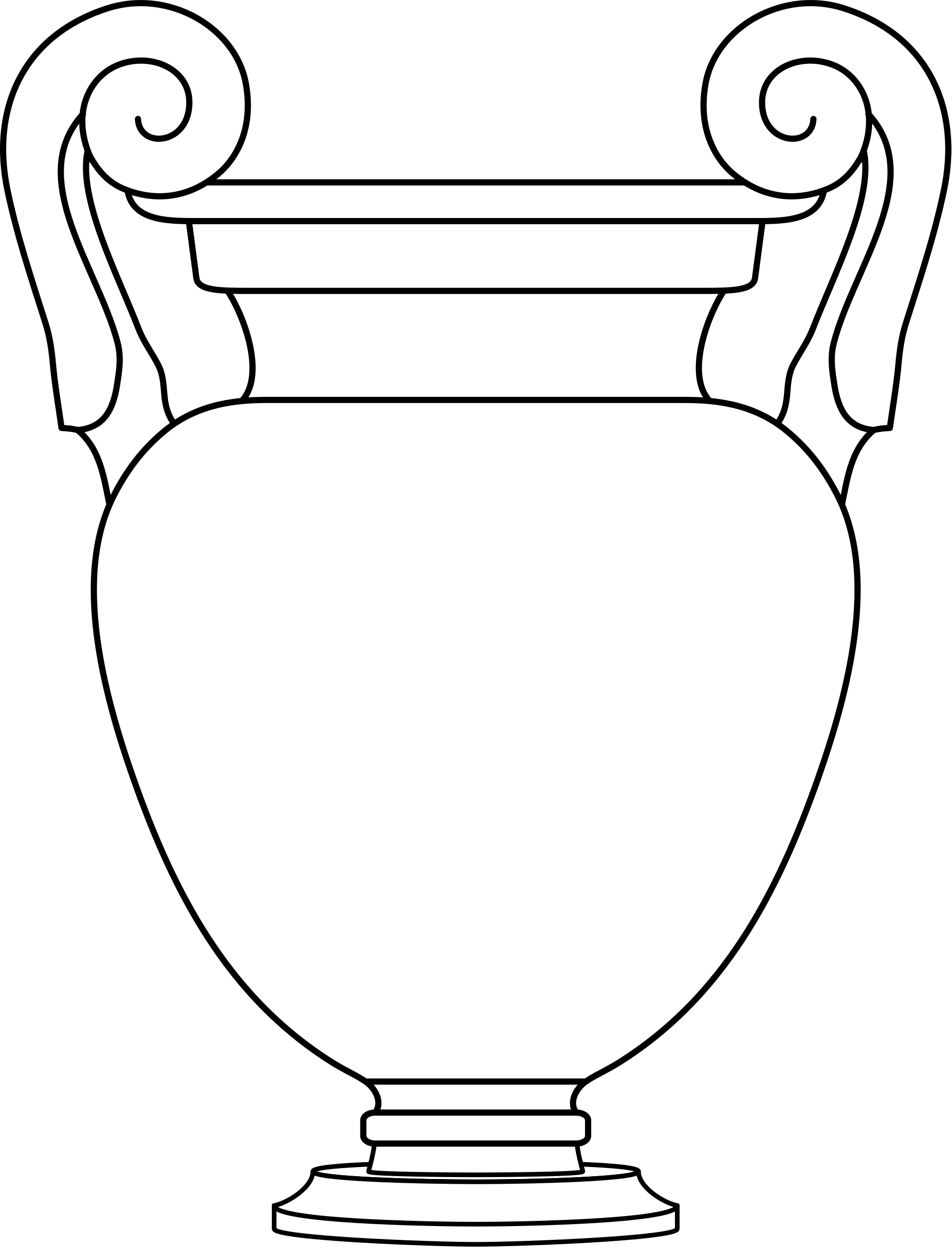 Attic drawing. File volute kraters white