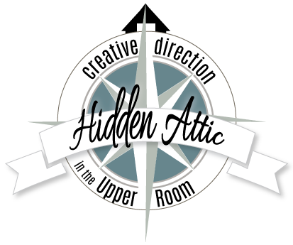 Attic drawing hidden. Communications graphic and web