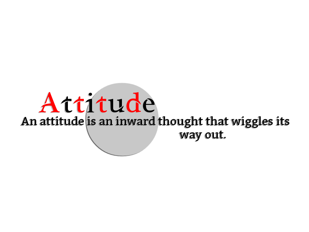 Attitude png text. Part editing mobile world