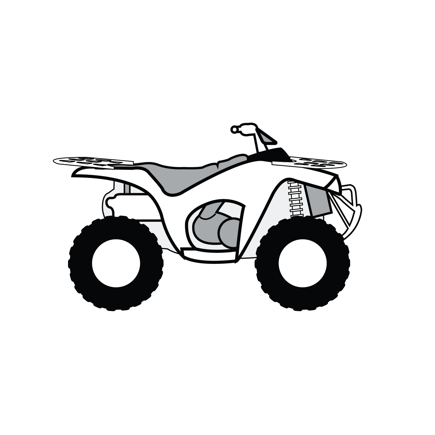 atv drawing kid