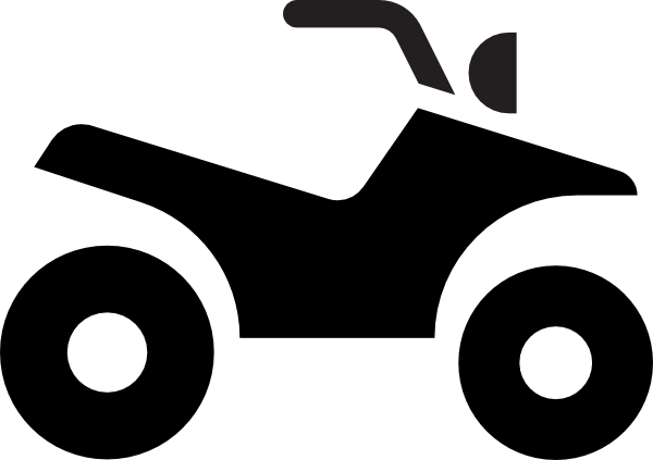 Atv drawing ranger polaris. Clipart wheeler huge