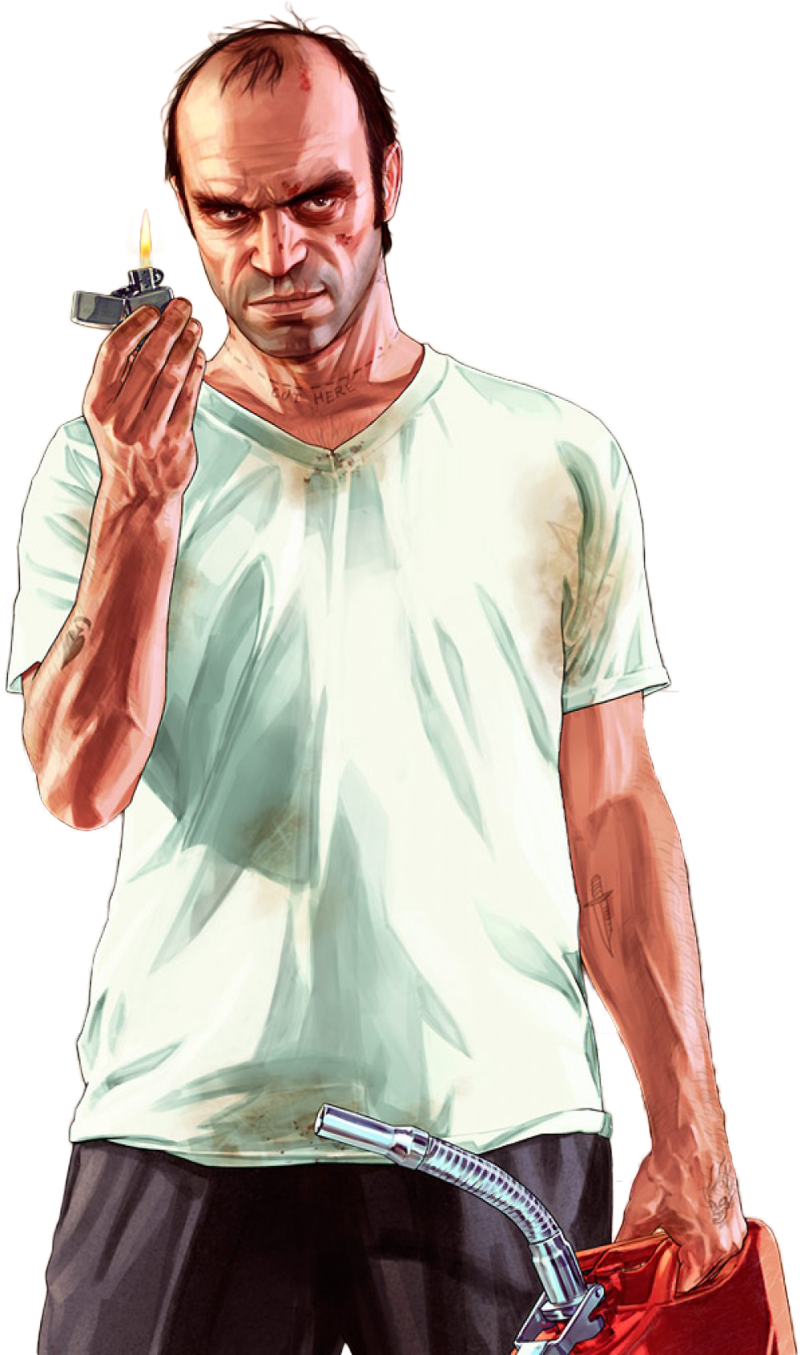 Trevor render by ashish. Gta 5 characters png clip art freeuse library