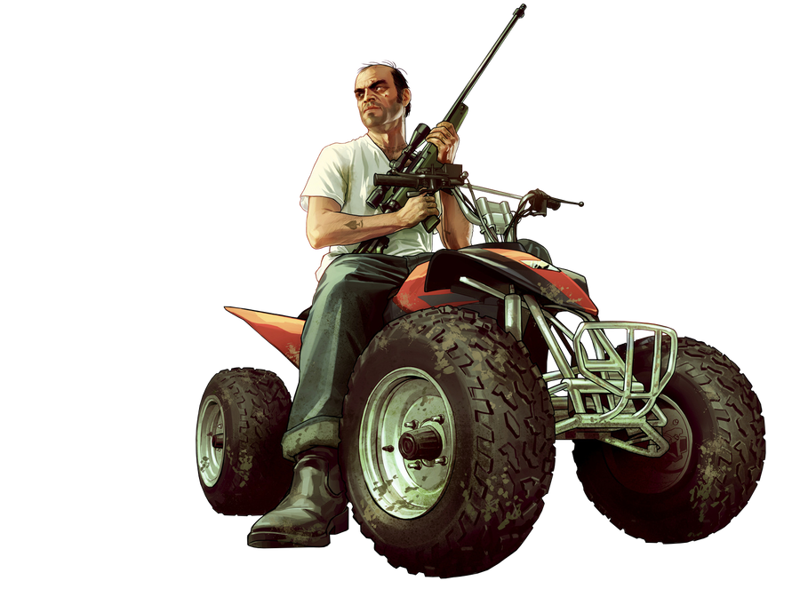 Atv drawing gta trevor. Phillips render by squizcat