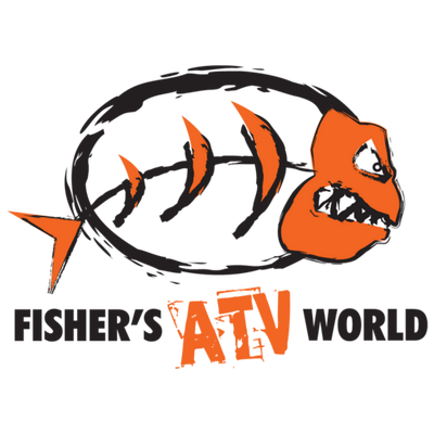 Atv drawing logo. Fisher s world on
