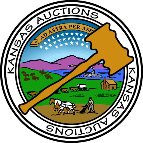 Auction clipart gold. Featured auctions kansasauctions net