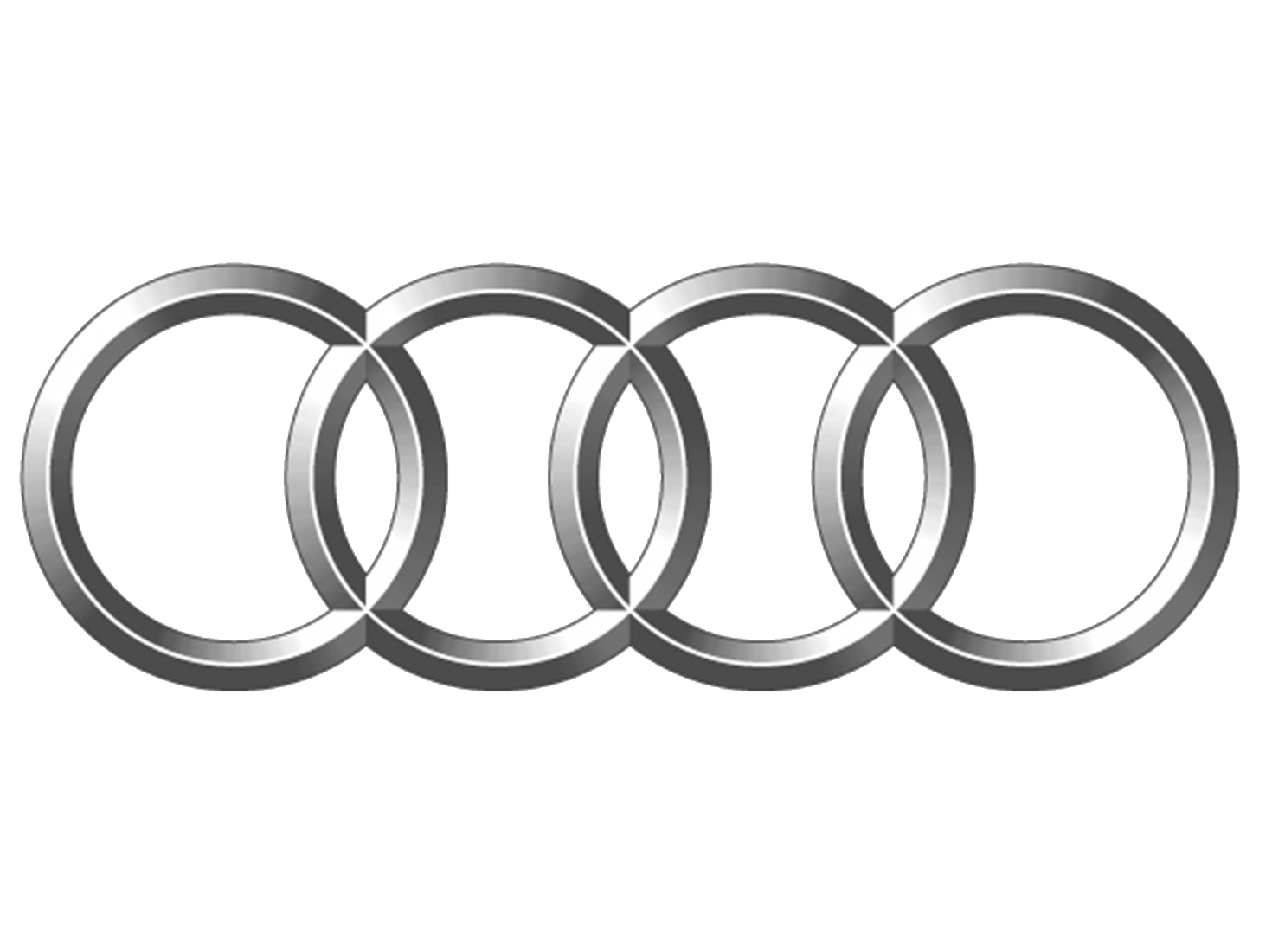 Audi drawing black and white. Logo transparent png stickpng