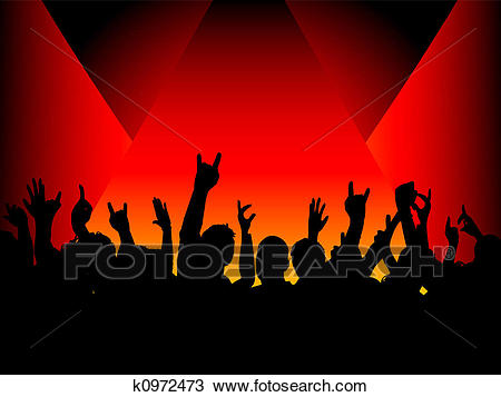 Audience clipart crowed. Crowd smallest clip art