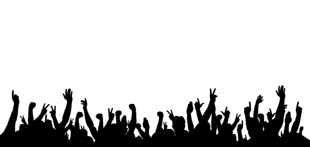 Audience drawing crowd silhouette. Png maxraven info concert