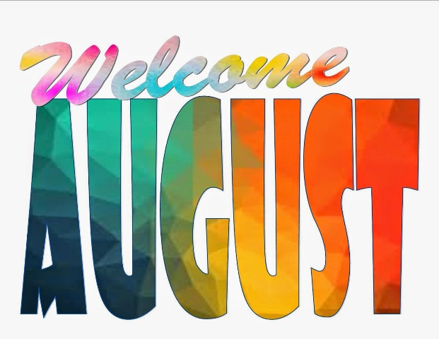 August clipart. Clip art free month