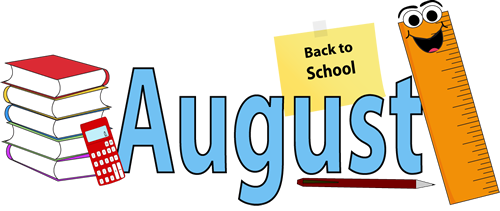 August clipart aug. Swagg downloads programs newsletter