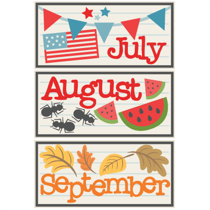 August clipart aug. Free cute cliparts download