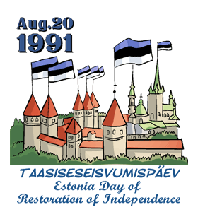 August clipart aug. Estonia day of restoration