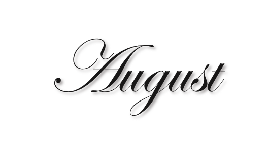 August clipart aug. Font images gallery for