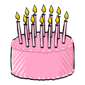 August clipart birthday cake. File png wikimedia commons