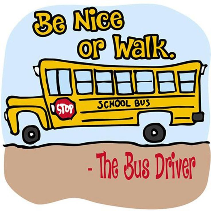 August clipart bus safety. Best school images