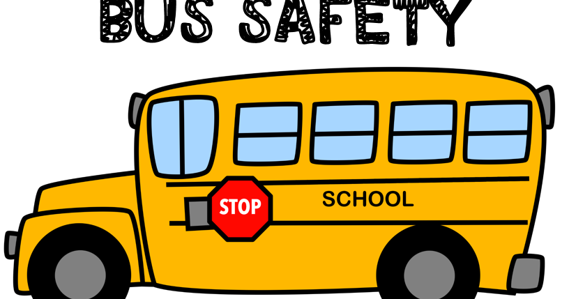 August clipart bus safety. Hopping from k to