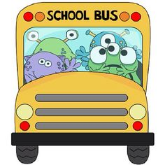 August clipart bus safety. Free month clip art