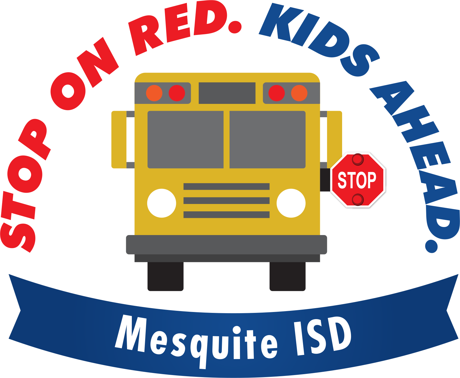 August clipart bus safety. Mesquite tx official website
