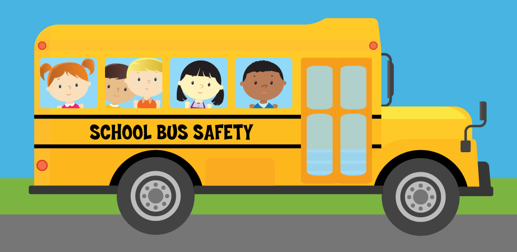 August clipart bus safety. Depts transportation okaloosa schools