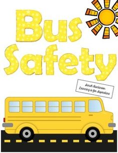 August clipart bus safety. Pride power coloring sheet