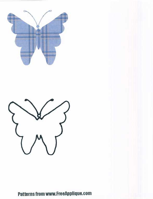 August clipart butterfly. Http www freeapplique com