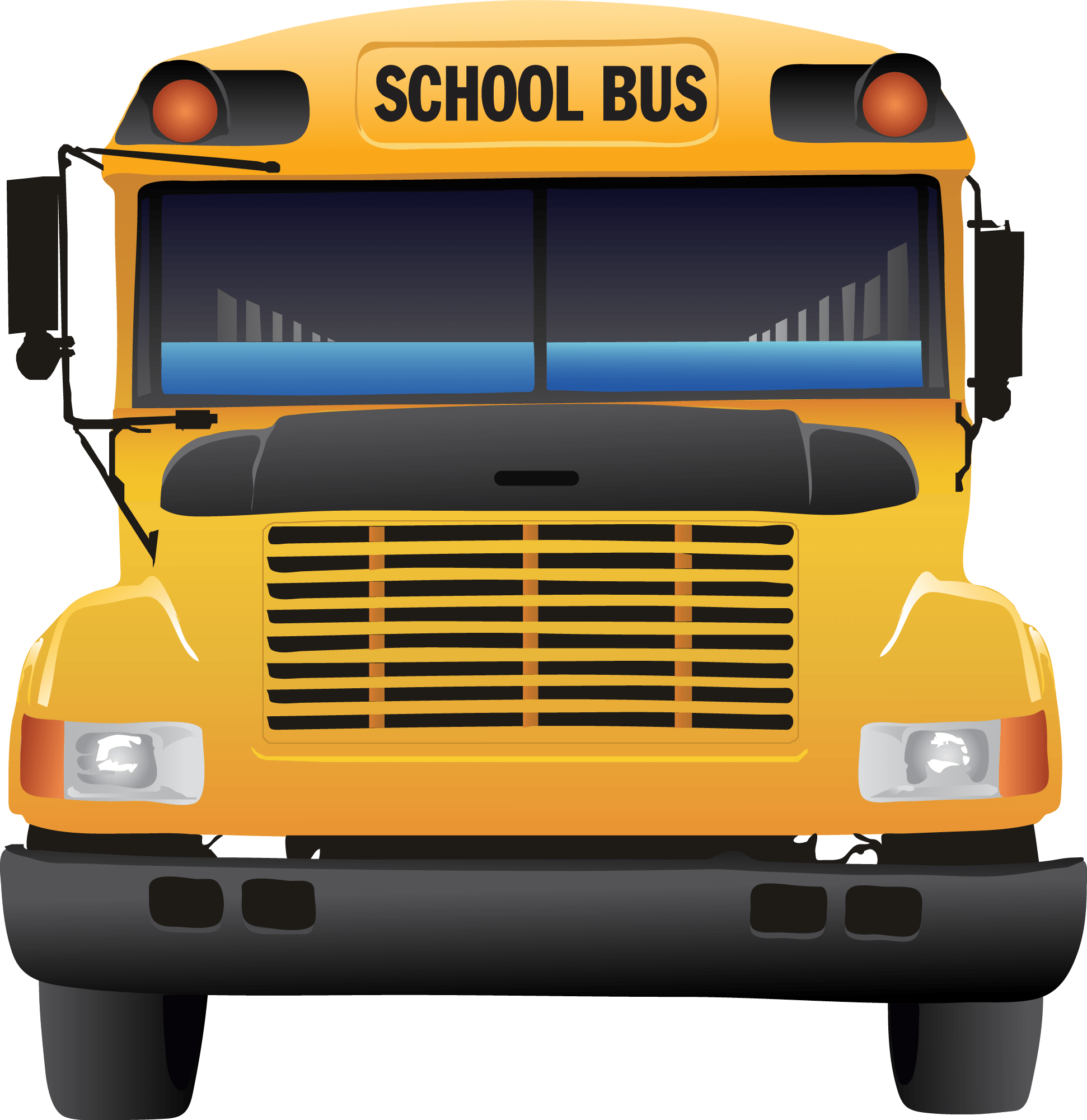 August clipart front bus. Back to school some
