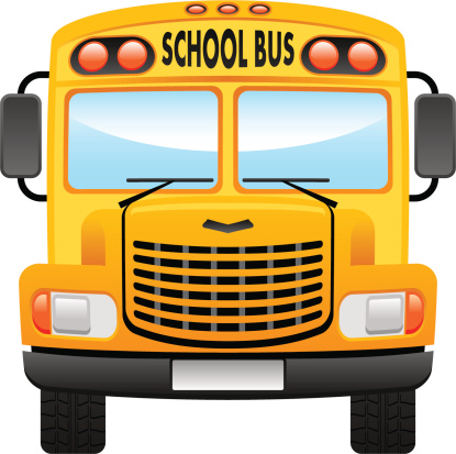 August clipart front bus. School at getdrawings com