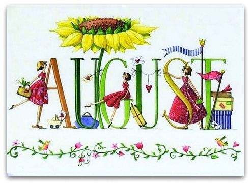 August clipart monthly. Best images on