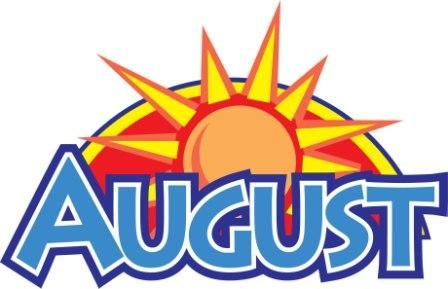 august clipart monthly