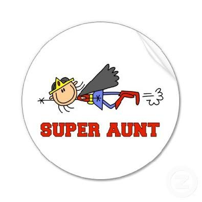 aunt clipart super cool