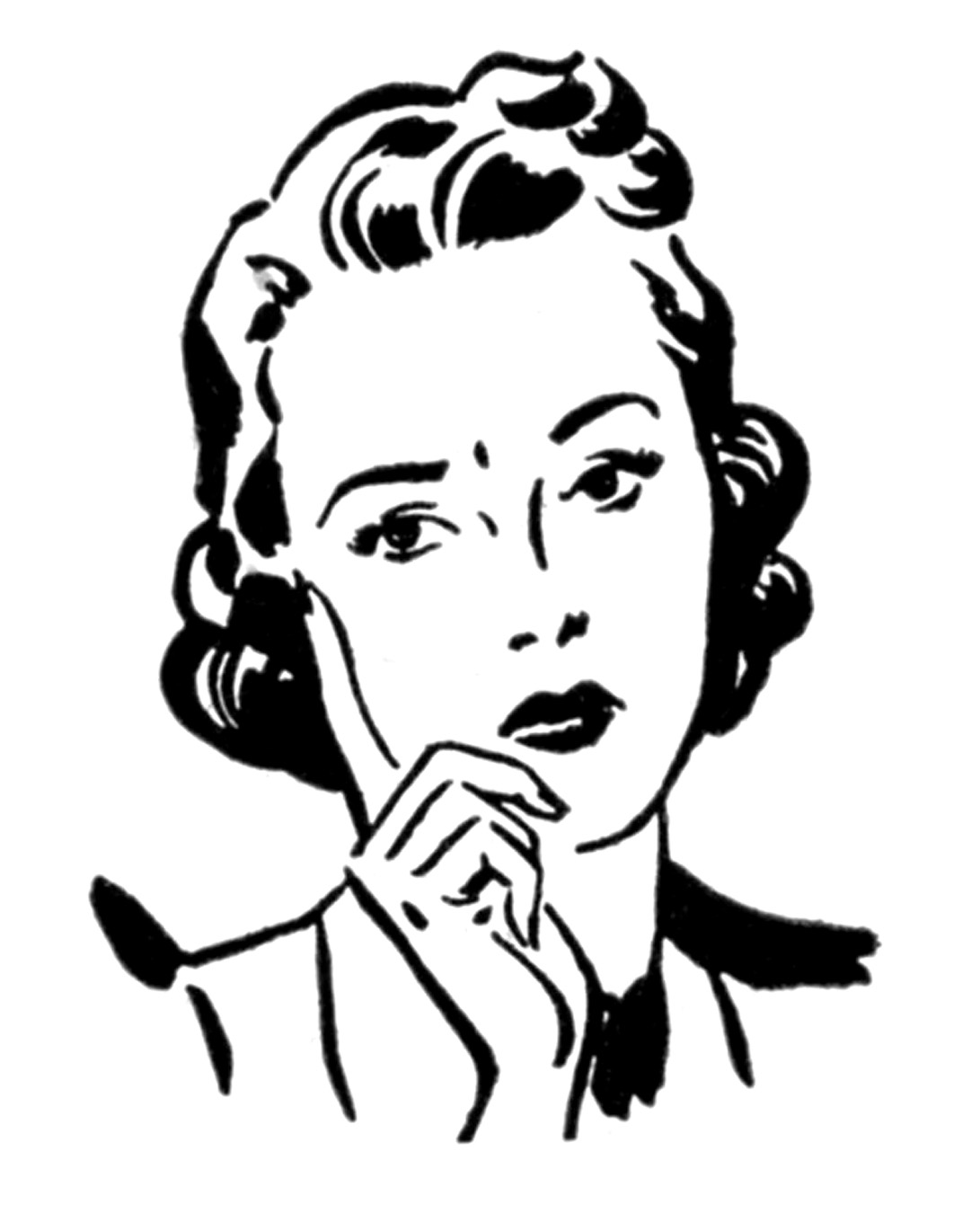 Aunt clipart working mom. Retro clip art money