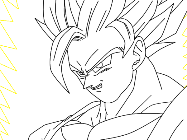 Aura drawing black and white