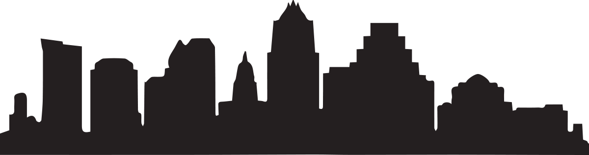 Austin skyline silhouette png. Songwriters group serving since