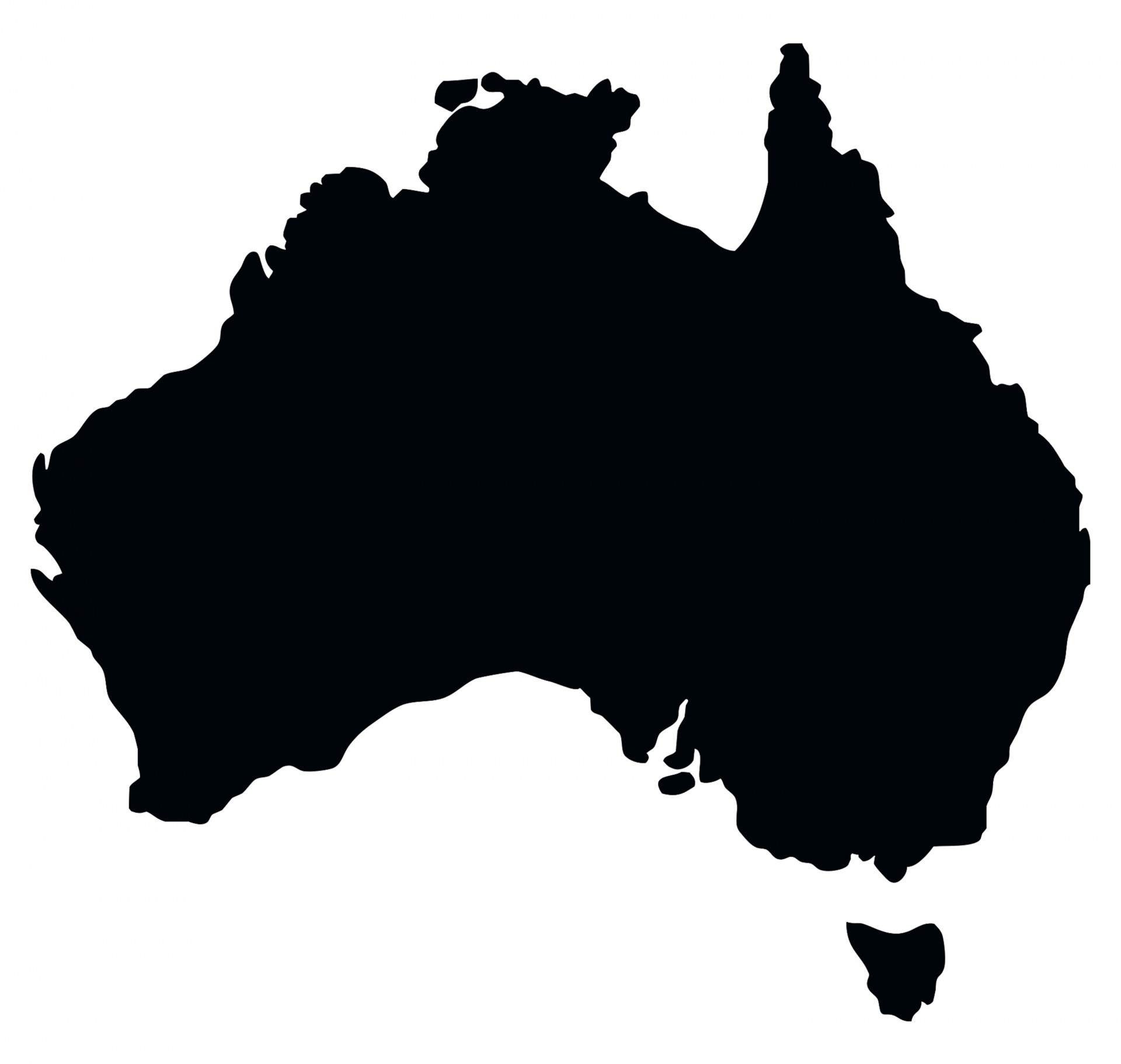 Australia clipart. Map free stock photo