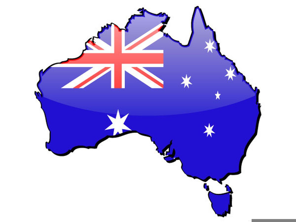 Australia clipart. Western map free images