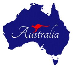 Australia clipart. Outline map best aussie