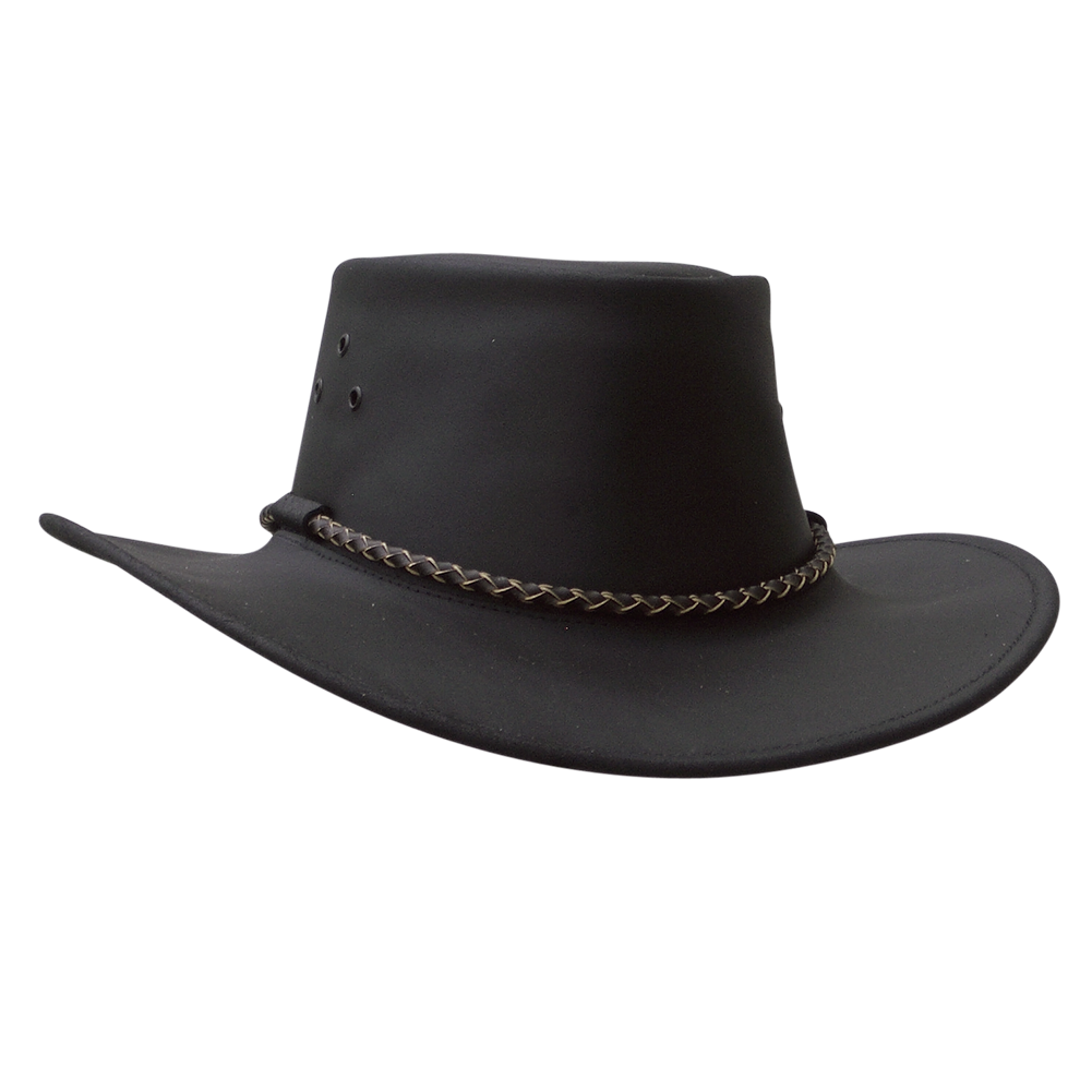 Australia clipart hat australian. Kakadu echuca oiled leather