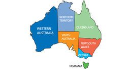 Australia clipart map. Free and vector graphics