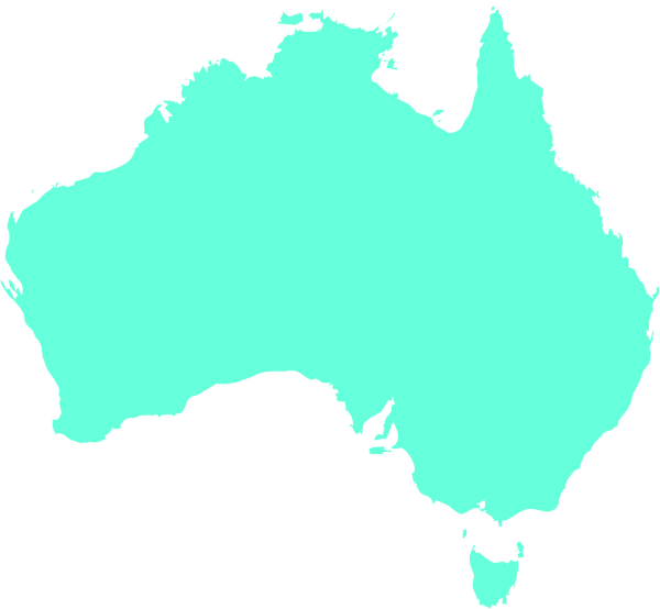 Australia clipart map. Aqua clip art at