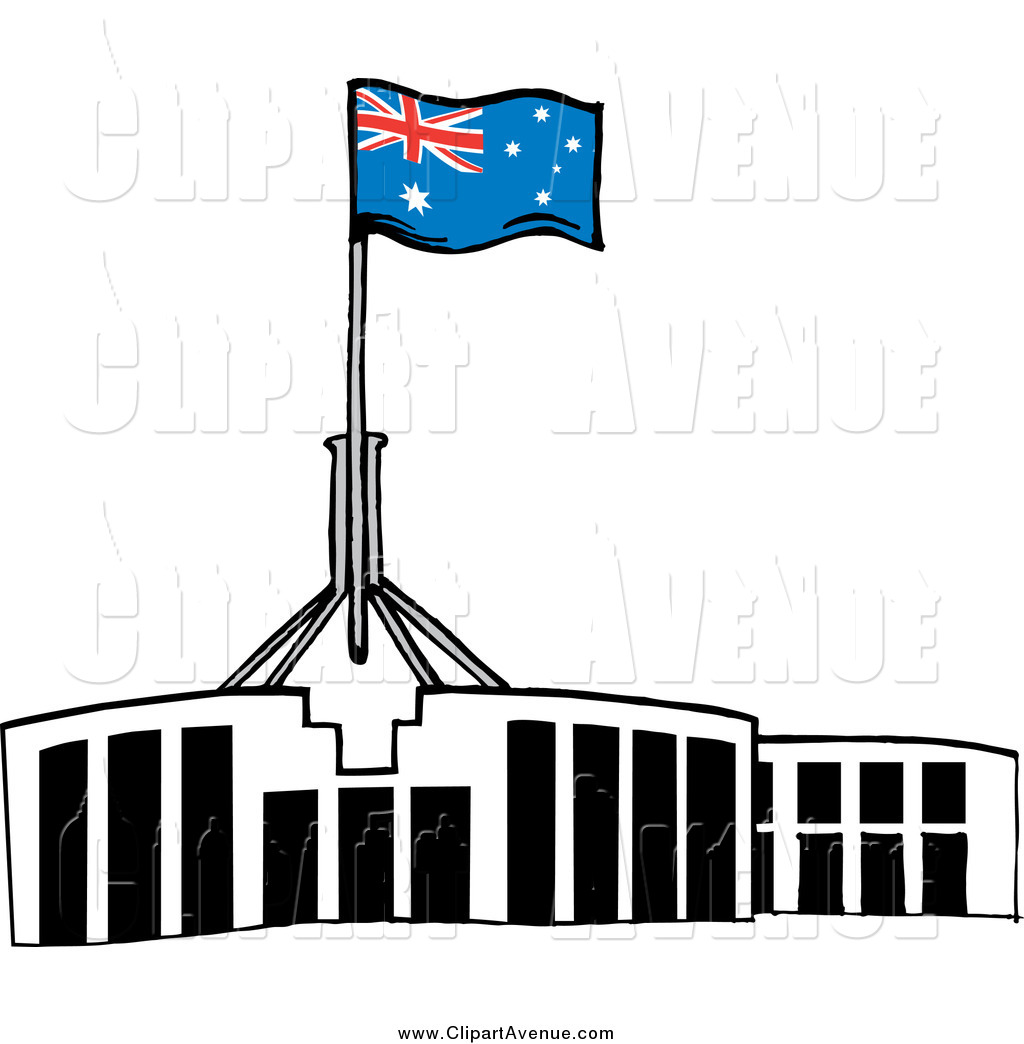 Australia clipart parliament house. Old clipground canberra
