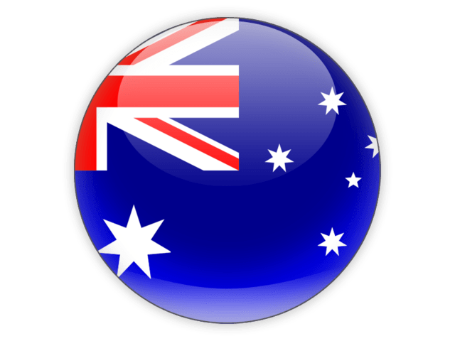 Australia flag png. Icon transparent stickpng