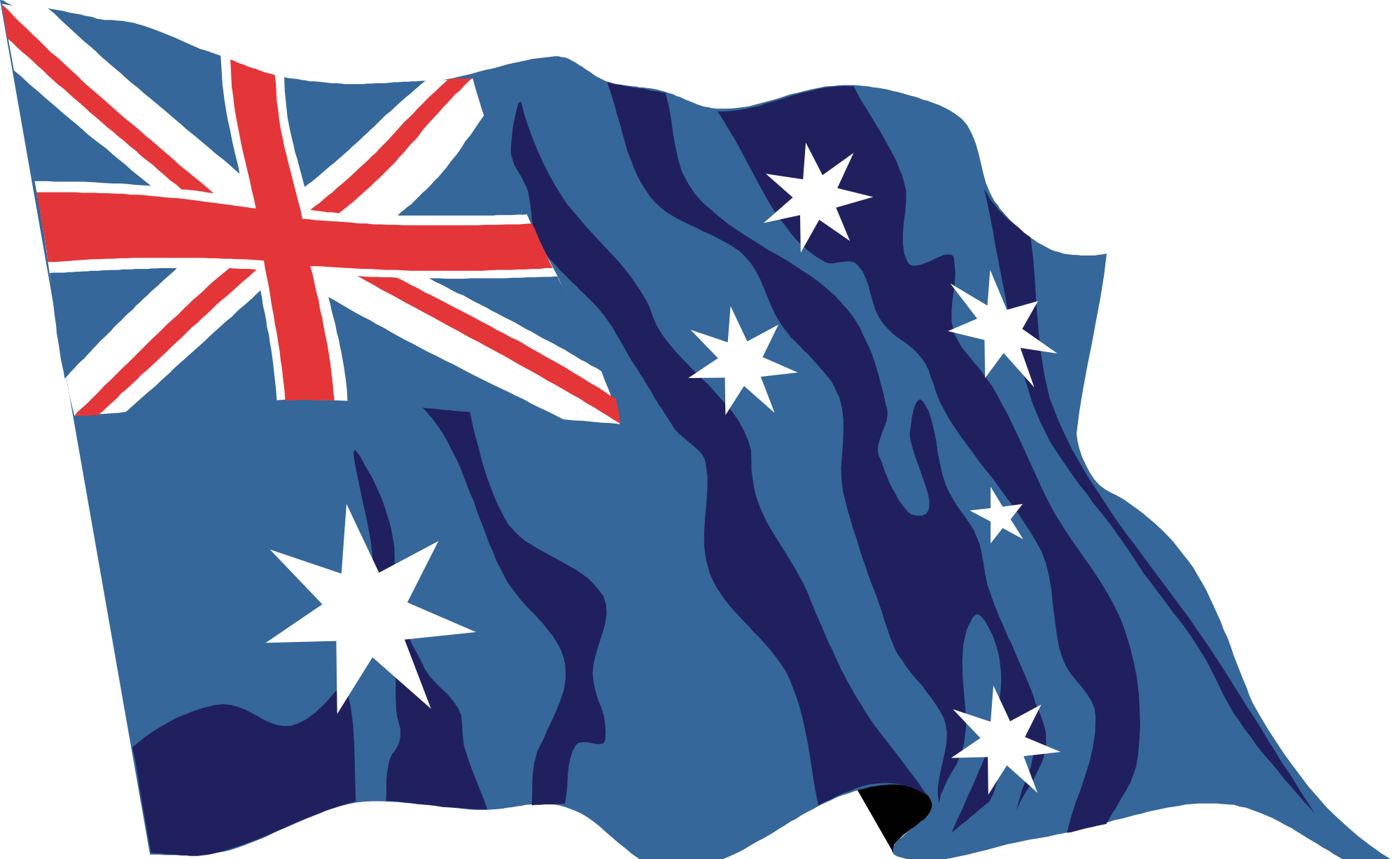 Australia flag png. File waving icon svg