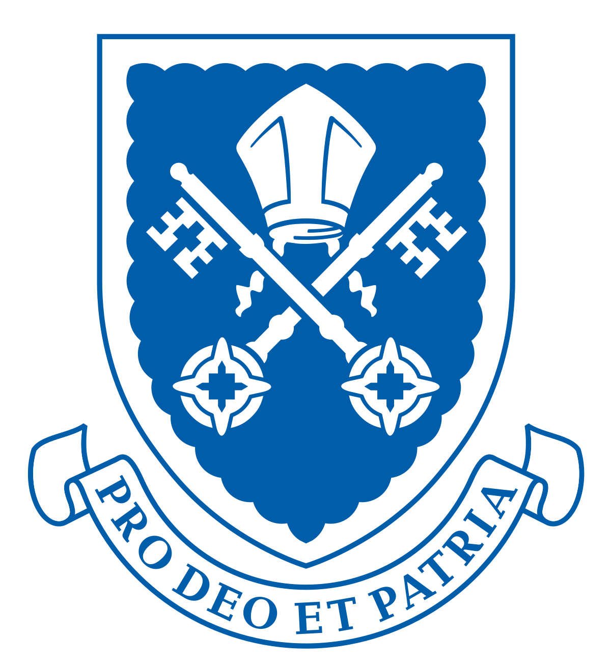 Australia football crest 256 x 256 png image. St peter s college