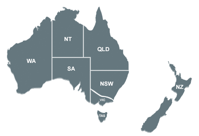 Australia transparent background. Locations intraoperative neuromonitoring ionm