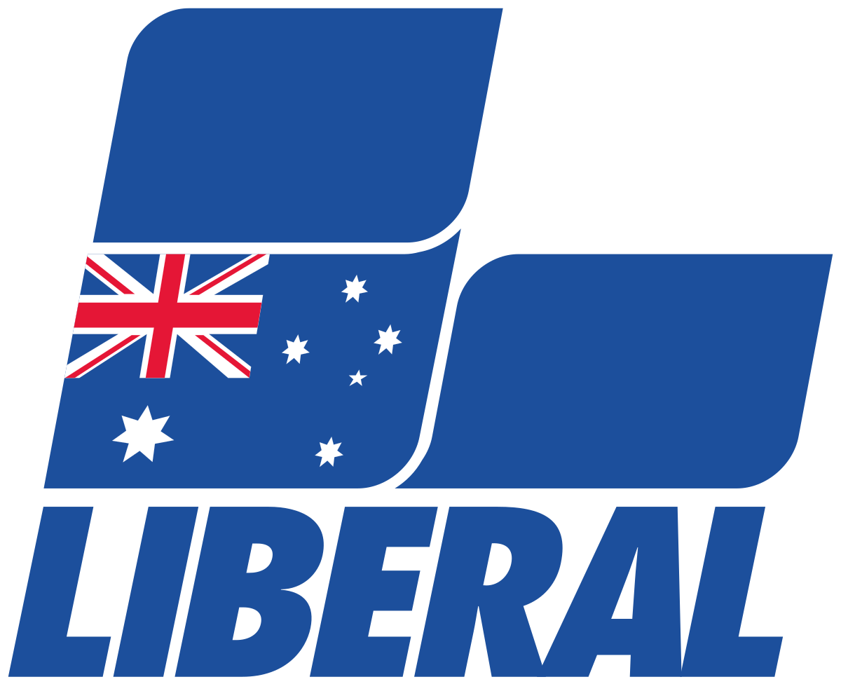 Australia transparent high re. Liberal party of wikipedia