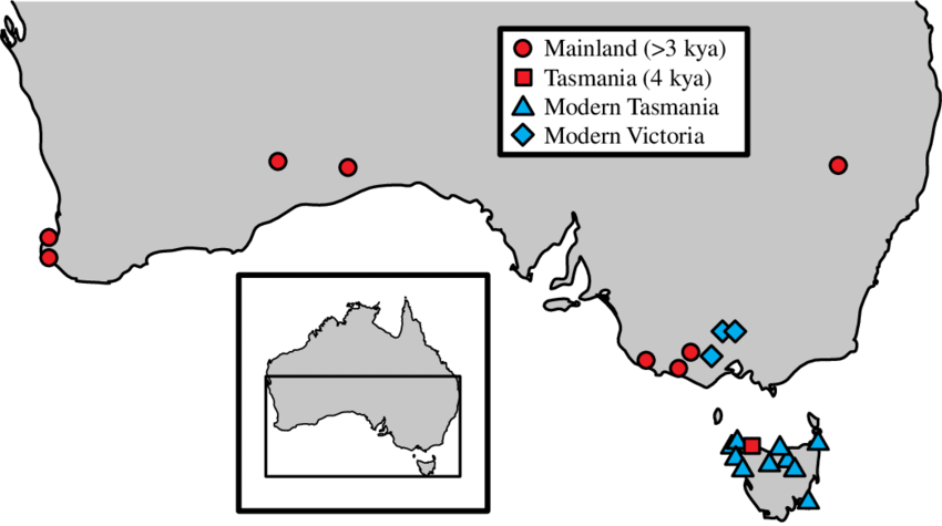 Australia transparent mainland. Map of southern showing