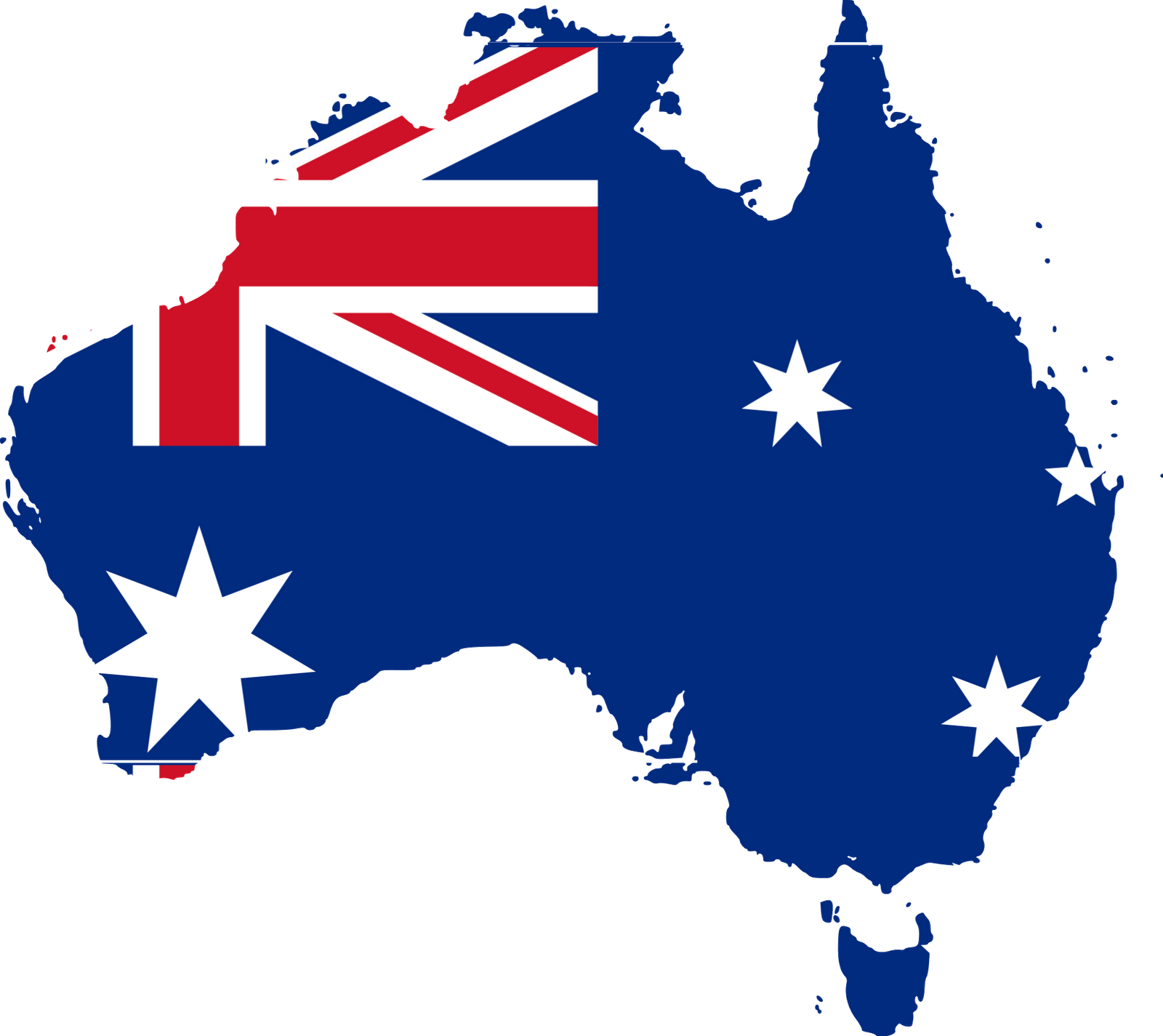 Australia transparent word. Png image